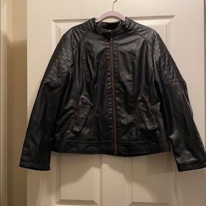 New With Tags Faux Leather Jacket